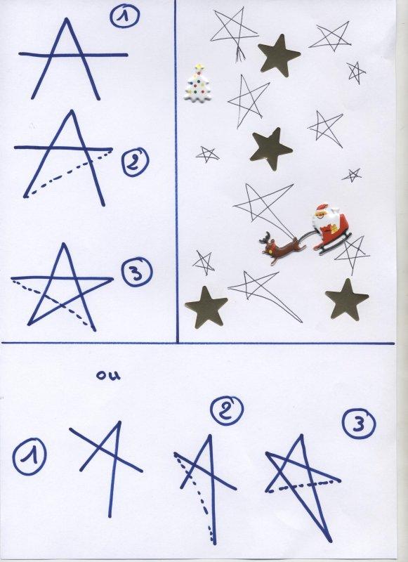 Faire uen étoile !!!