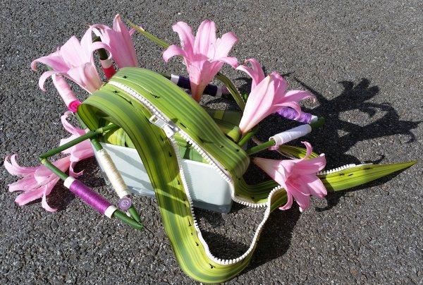 ma participation pour la revue ateleir floral