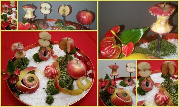 Participation au concours de  la revue l'Atelier Floral