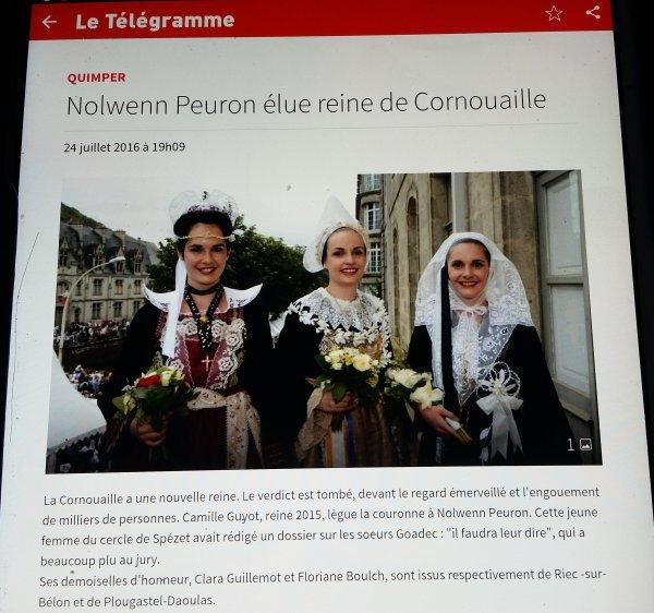 Festival : Le Cornouaille