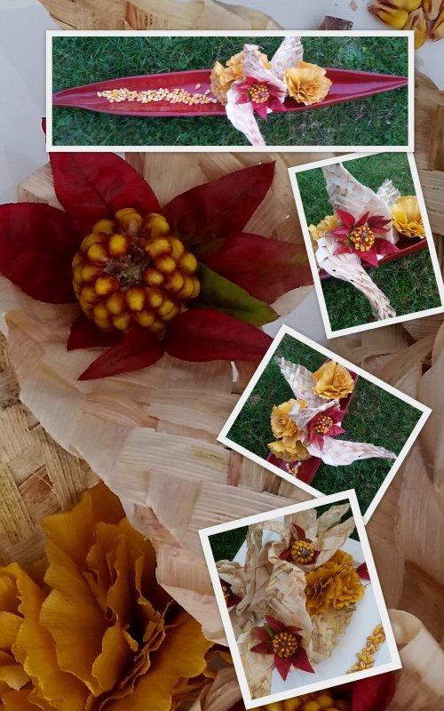 Une autre version des fleurs de maïs