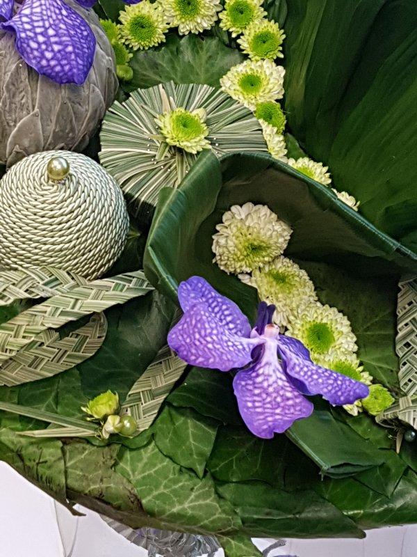 Expo d'art Floral à Trégueux près de Saint Brieuc