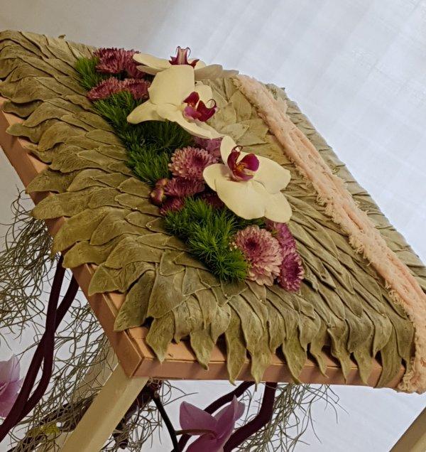Expo d'art Floral à Trégueux près de Saint Brieuc une première série