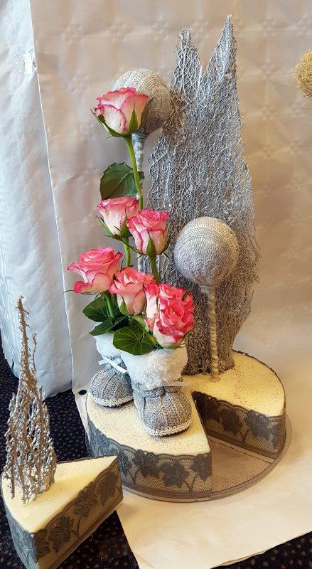 En rose et gris
