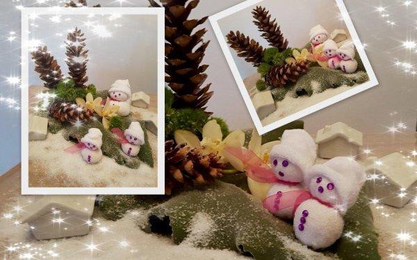 6 décembre décor enneigé !