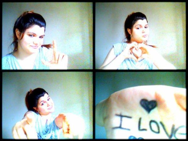 <3 Je t'aime toi e <3