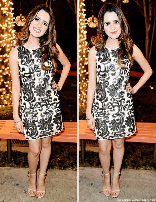 27/01/16 ; Laura Marano au dîner «Star Darlings» de Just Jared Jr.