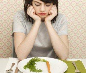 Les repas sont trop frustrants quand on bouffe que de la soupe de légumes.