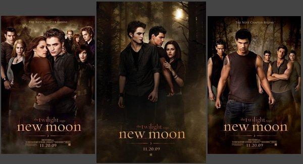 new moon_ [ trailer 1 - 2 - 3 ]_ sortie prévue le 18 Novembre (c'est que ça approche hihi)