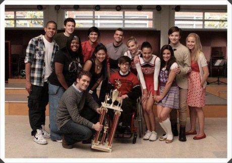 le coin série: Glee
