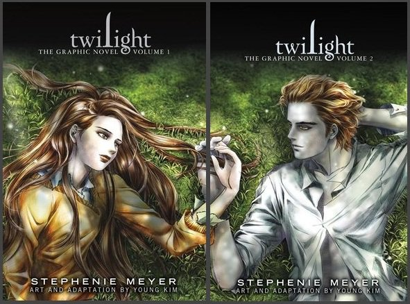 Twilight Saga: adaptation manga