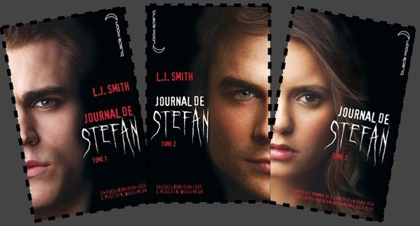 The Vampire Diaries: Journal de StefanEcrit par L.J Smith en collaboration avec Julie Plec et Kevin Williamson
