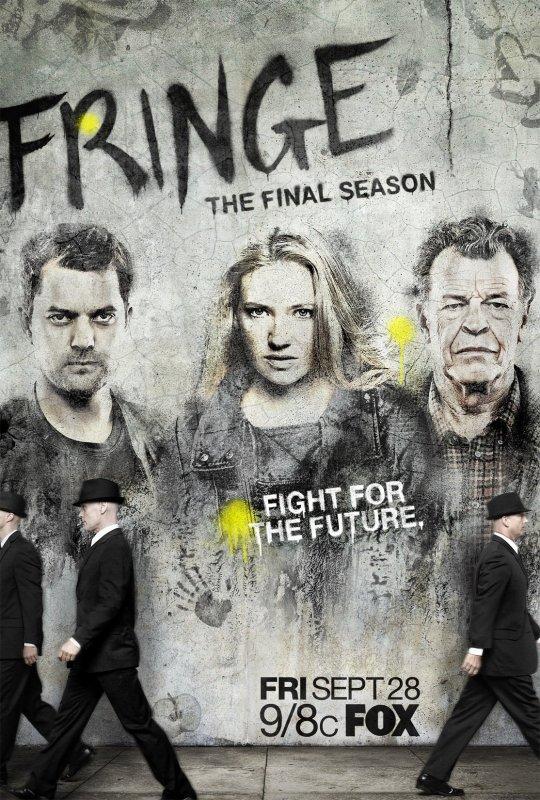 [ FRINGE ] poster promo saison 5