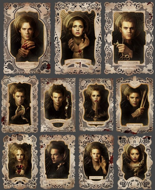 Après un rematage des 3 saisons + lecture des 6 tomes du journal de Stefan... Retour de The Vampire Diaries <3