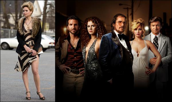 .  Un nouveau still et une nouvelle photo promo du film American Hustle sont sorti .