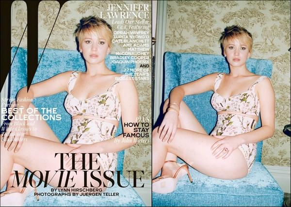 .  Découvrez un nouveau photoshoot de Jennifer pour le magazine W du mois de février 2014 .