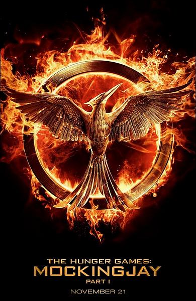 . Le premier poster pour Hunger Games 3 est apparu, nous dévoilant ainsi le logo du film  .
