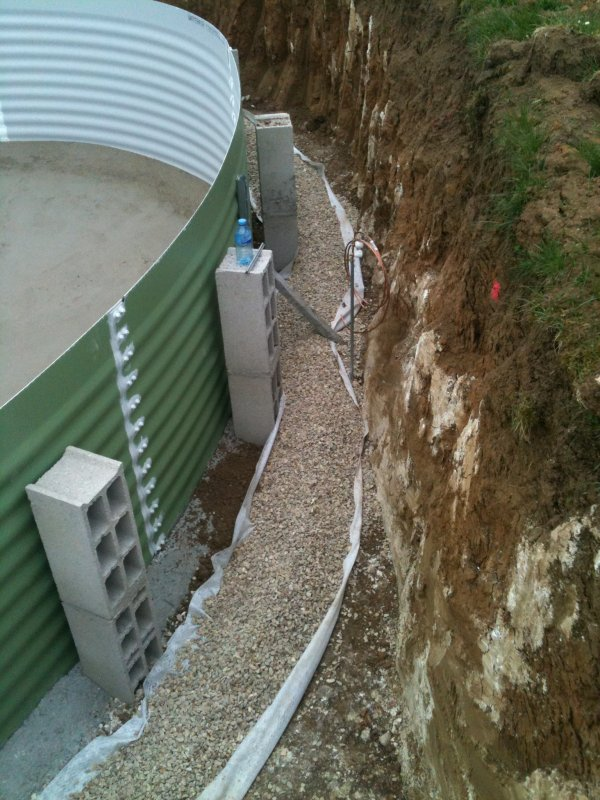 Drain p riph rique construction de ma piscine for Drainage piscine