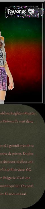 Bienvenue sur ta source d'actualité #1 sur Leighton Meester et Nina Dobrev