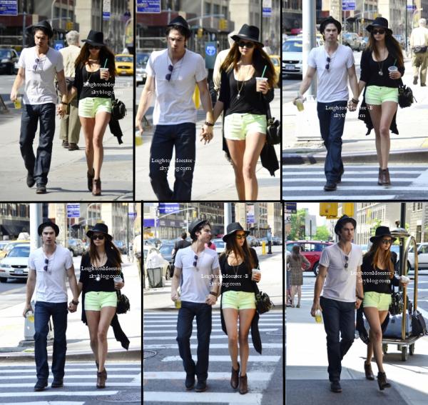 `EVENT :11 mai 2012, des photos de Nina sont apparues à la soirée Rolling Stone Us Weekly.  `CANDIDS : 13 mai 2012 Nina a été vu avec sa maman pour la fête des mères. Le même jour elle a été aperçue main dans la main avec Ian. + Photo de son twitter & de celui de LEIGHTON.   Que penses-tu de sa tenue ? Nina & Ian : même style de chapeau (;