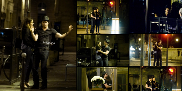 `CANDIDS : 27 Mai 2012 Nina a été vue se baladant à Paris au bras de son amoureux, Ian. + Des photos prisent avec ses fans.   Que penses-tu de sa tenue ? Vraiment un couple adorable.