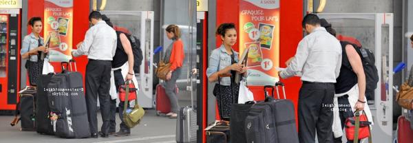 `CANDIDS : 28 Mais 2012 Nina & Ian ont été vu à la gare Montparnasse pour quitter Paris. `EVENTS : 26 Mai 2012 Leighton Meester a été vu aux Philippines à la Fashion Week (un petit top pour sa tenue). `SHOOT : Leighton fera la couverture de deux magasines pour le mois de Juin. + Une interview de Leighton durant son voyage pour The Buzz + Une vidéo de Leighton pour Penshoope + Une vidéo de Leighton arrivant aux Philippines le 25 Mai. + Une autre vidéo de Lei'     Que penses-tu de sa tenue ?   & des shoots pour les magazines ?