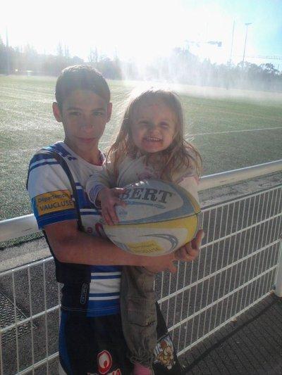 moi et cassidy au rugby