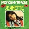 JEANETTE / Jeanette / Porque te vas (1974)