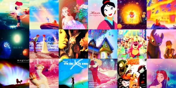 Les meilleurs films d'animations selon moi : D