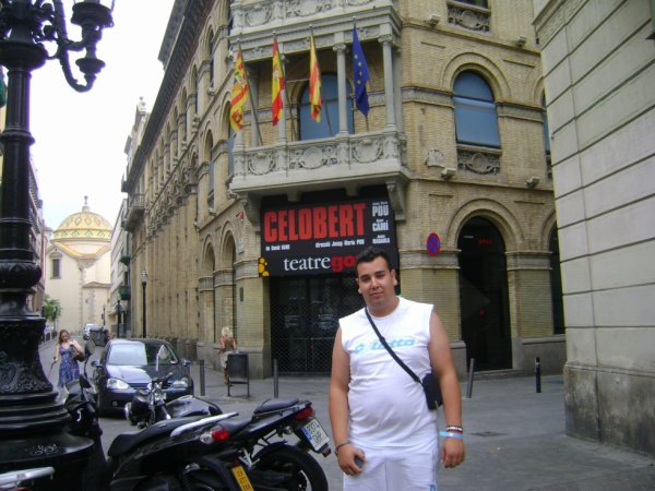 Barcelone...