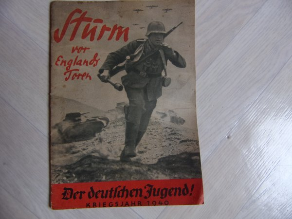 Livret de propagande allemand ww2.
