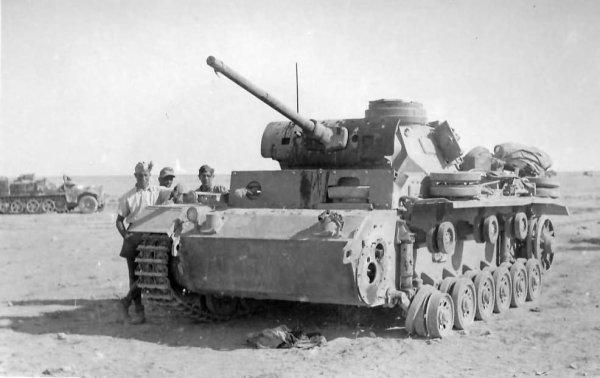 Diorama Afrika Korps.