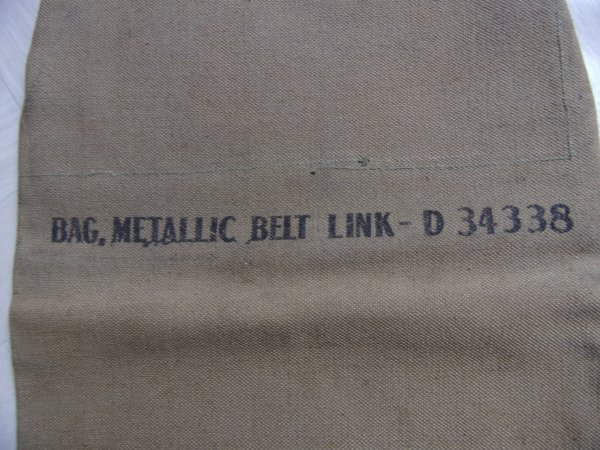 Bag metallic belt link D34 338.