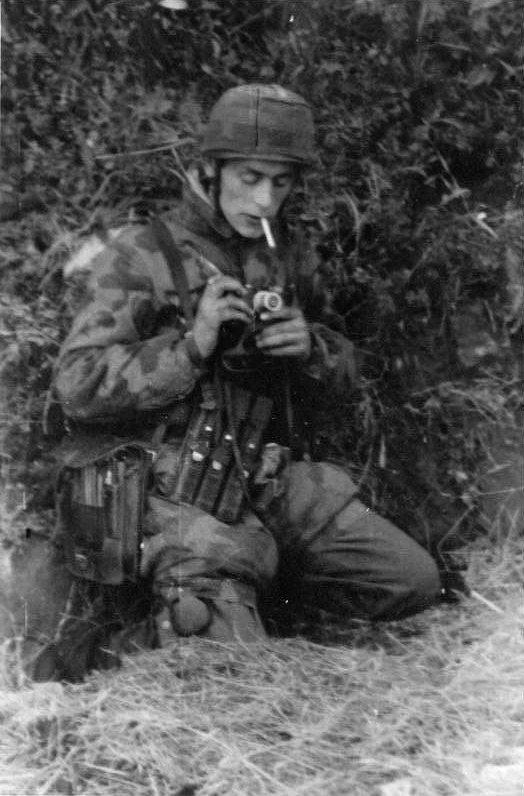 Photo motard WH WW2.