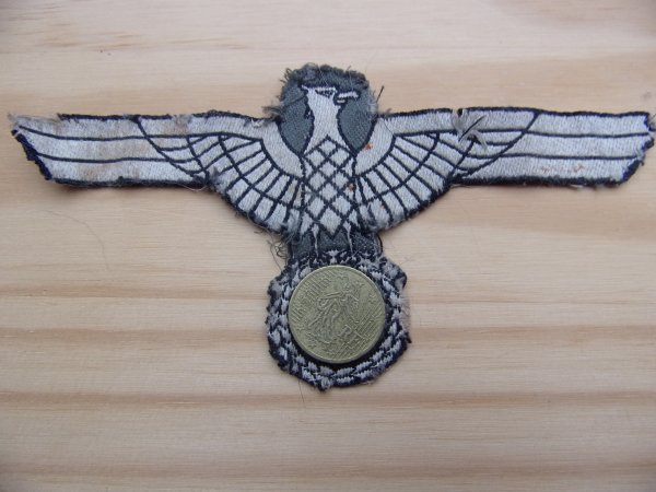 Aigle de fanion Officier WH WW2.