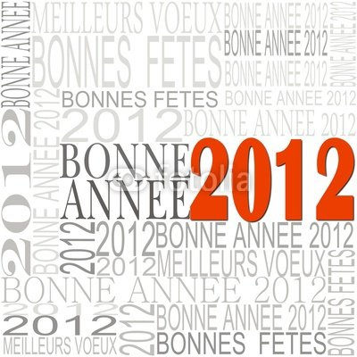 BONNE ANNEE 2012 A TOUS !