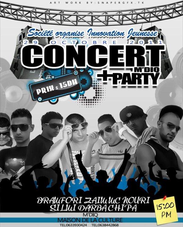 Concert a 29/10/2011