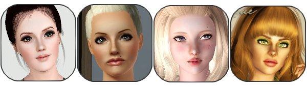 Section modèles sims