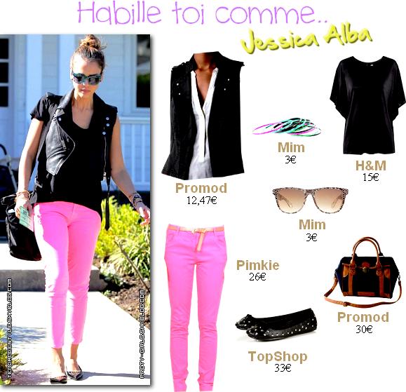 HABILLE TOI COMME;Jessica Alba