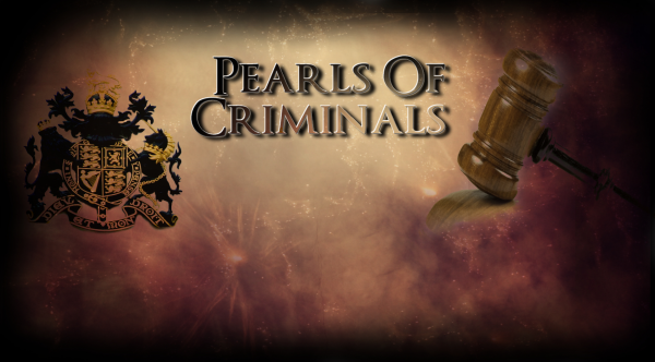 Commande : Pearls Of Criminals