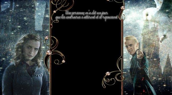 Commande : hpfanficdrago-hermione