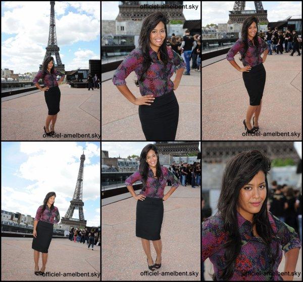 [08-06-11] Amel était présente lors du 4e Prix de l'Ambassadeur ELA au musée du Quai Branly à Paris