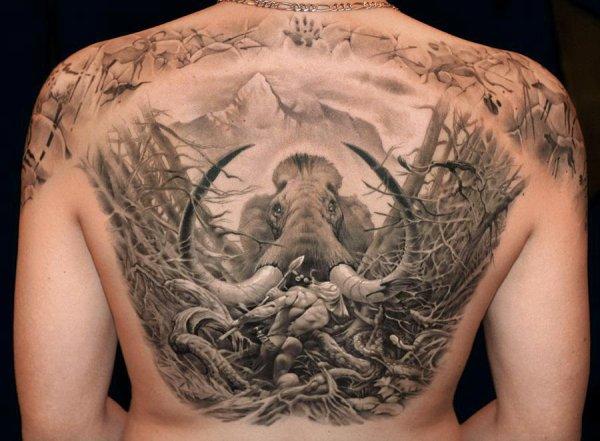 James tattoo art