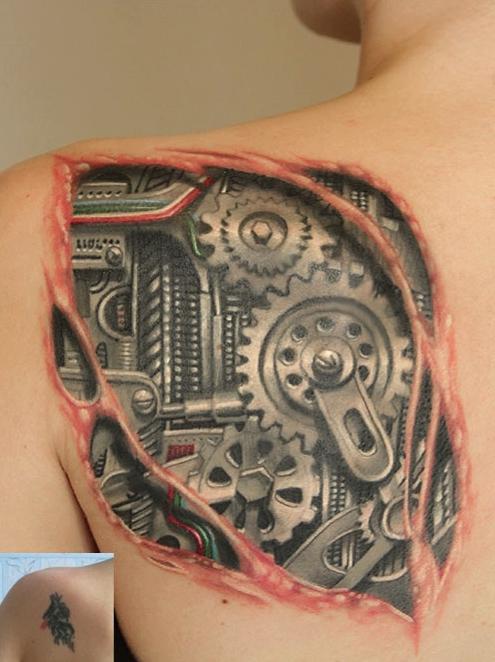ROM tattoo