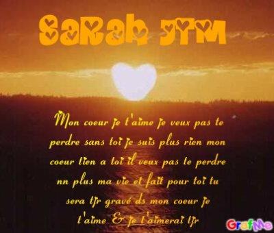 Poeme pour toi blog de tatiboum for Tu est le miroir de ma vie