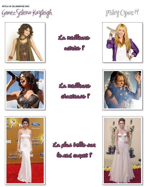 Miley-cyrus-14 Elles sont toutes les deux made in Disney et sont des idoles de millions  de jeunes filles. Mais pour toi, de Selena & Miley laquelle est ...  Miley-cyrus-14