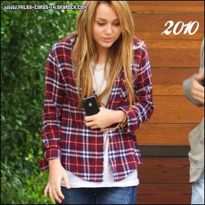 2007 - 2010 : Elle a changé de comportement devant les Pap'z  Clik sur les images pour voir les vidéo - Ton avis ?