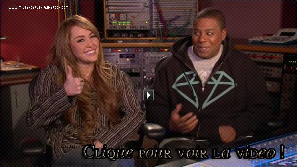 Vidéo promo pour Saturday night live. + vote pour Miley au KCA !