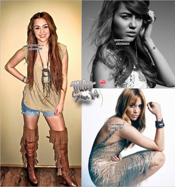 De nouvelles photos de Miley .