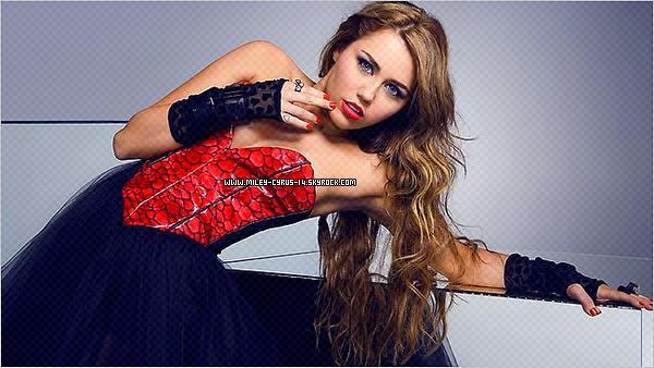 Nouvelles photos promo pour la tournée de Miley.